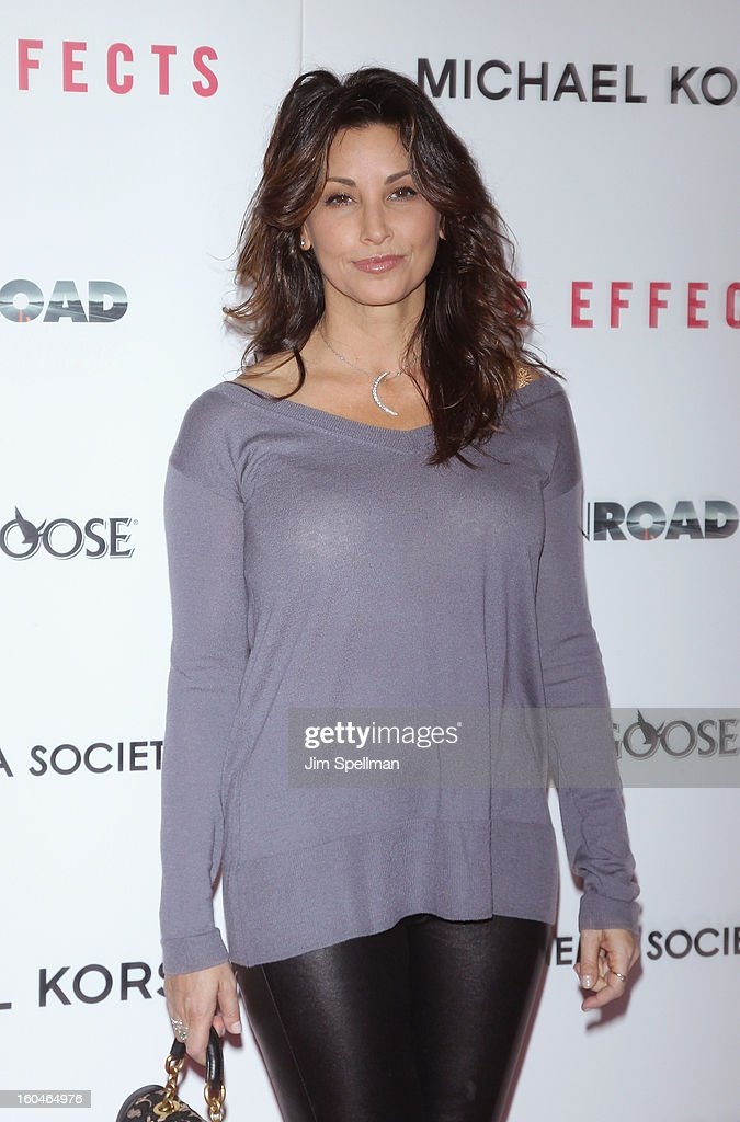 Actress Gina Gershon attends the Open Road With The Cinema Society And Michael Kors Host The Premiere Of 'Side Effects' at AMC Lincoln Square Theater on January 31, 2013 in New York City.