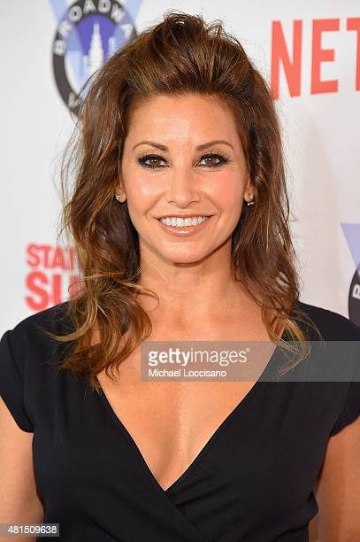 Actress Gina Gershon attends the 'Staten Island Summer' New York Premiere at Sunshine Landmark on July 21 2015 in New York City