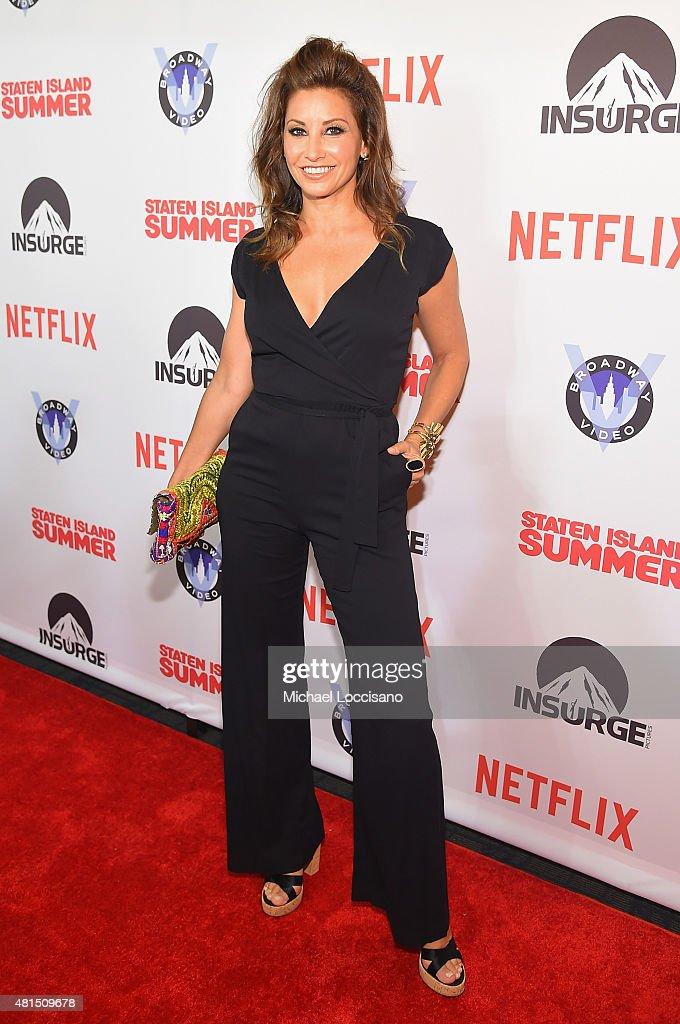 Actress Gina Gershon attends the 'Staten Island Summer' New York Premiere at Sunshine Landmark on July 21, 2015 in New York City.