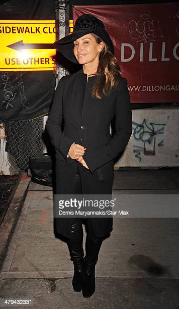 Actress Gina Gershon is seen on March 11 2014 in New York City
