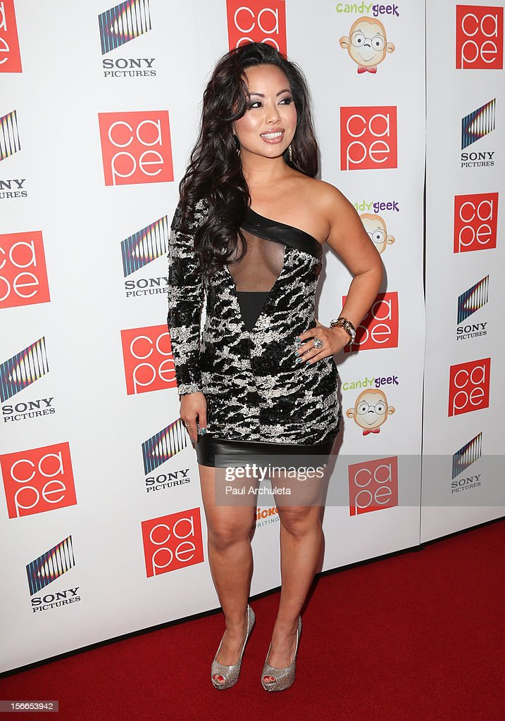 Actress Gina Hiraizumi attends the 2012 CAPE Holiday Fundraiser 'I Am...All In' at the W Hollywood on November 17, 2012 in Hollywood, California.