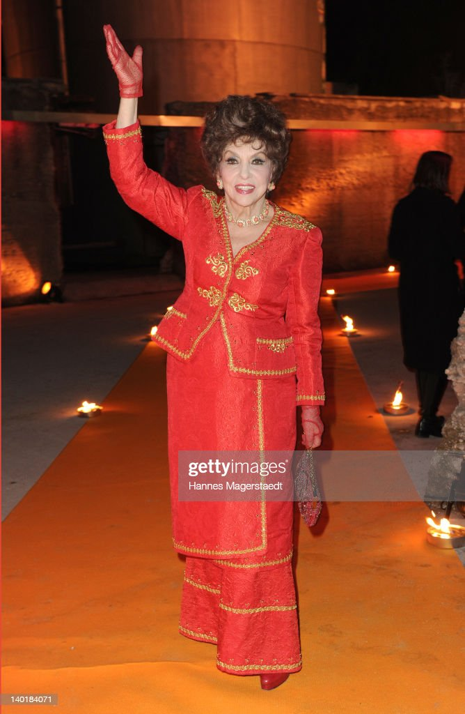 Actress Gina Lollobrigida attends the 20 Years Kabel1 celebration at the Kesselhaus on February 29, 2012 in Munich, Germany.