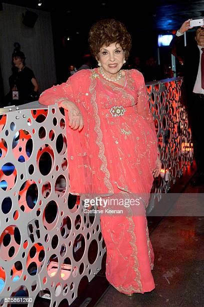 Actress Gina Lollobrigida attends the TCM Classic Film Festival 2016 Opening Night After Party on April 28 2016 in Los Angeles California 25826_005