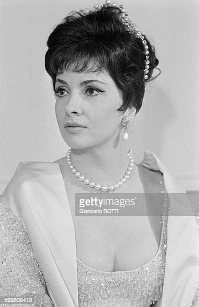 Actress Gina Lollobrigida In Paris France In April 1963
