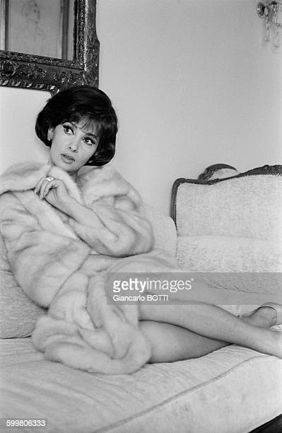 Actress Gina Lollobrigida In Paris France In March 1965