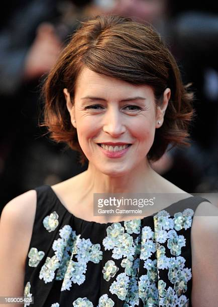 Actress Gina McKee attends the 'Jimmy P ' Premiere during the 66th Annual Cannes Film Festival at the Palais des Festivals on May 18 2013 in Cannes...
