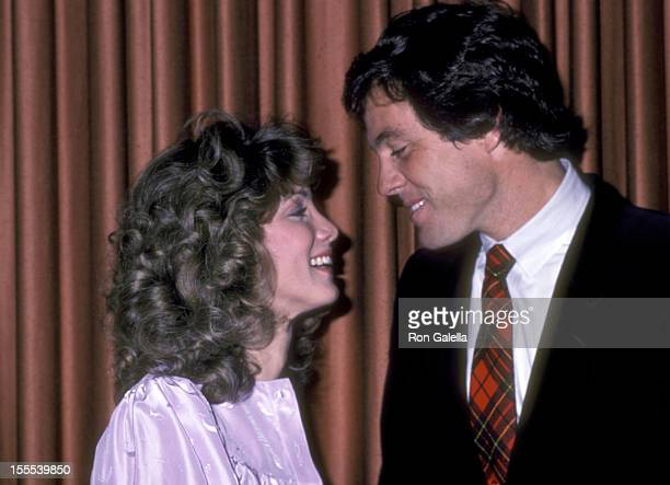 Actress Gina Michaels and actor Brodie Greer attend the WrapUp Parties for the Third Season of Knots Landing and the Fifth Season of Dallas on...