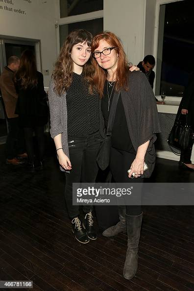 Actress Gina Piersanti and O The Oprah Magazine design director Jill Armus attend Soraya Osorio Inspiration Collected Furniture launch party on March...