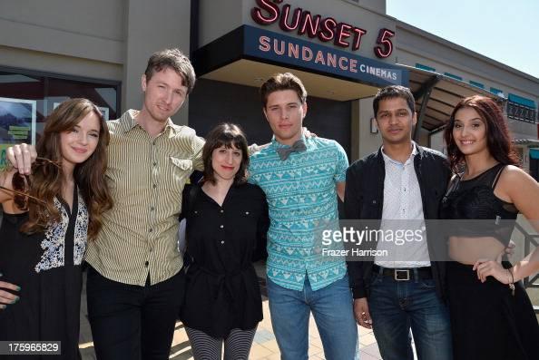 Actress Gina Piersanti guest Director Eliza Hittman Actor Ronen Rubinstein producer Shrihari Sathe and Giovanna Salimeni attend 'It Felt Like Love'...