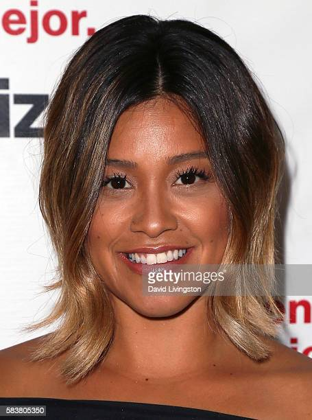 Actress Gina Rodriguez and Verizon launch Bienvenido a lo mejor at Mondrian Los Angeles on July 27 2016 in West Hollywood California