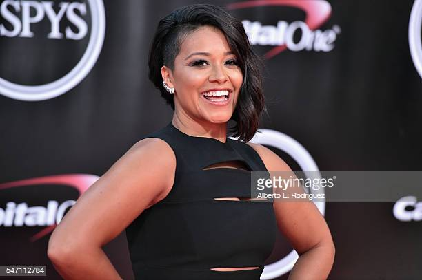 Actress Gina Rodriguez attends the 2016 ESPYS at Microsoft Theater on July 13 2016 in Los Angeles California