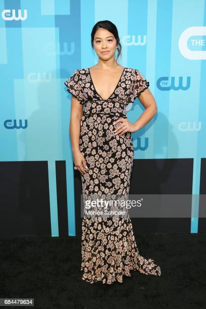 Actress Gina Rodriguez attends the 2017 CW Upfront on May 18 2017 in New York City