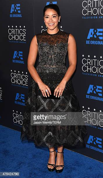 Actress Gina Rodriguez attends the 5th Annual Critics' Choice Television Awards at The Beverly Hilton Hotel on May 31 2015 in Beverly Hills California