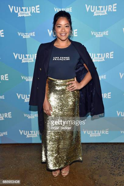 Actress Gina Rodriguez attends the Jane The Virgin panel discussion at the 2017 Vulture Festival at Milk Studios on May 20 2017 in New York City