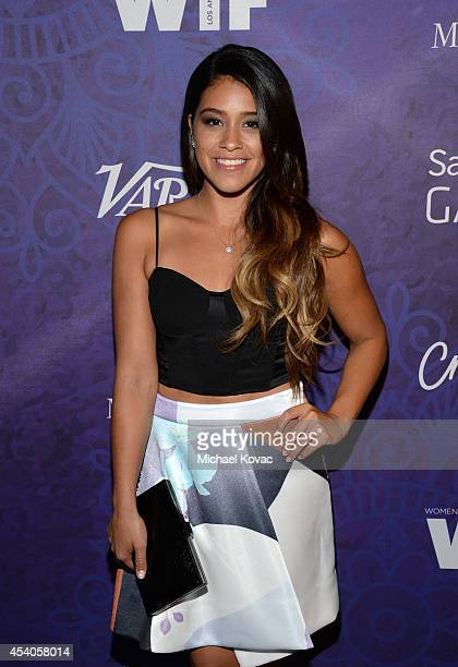 Actress Gina Rodriguez attends Variety and Women in Film Emmy Nominee Celebration powered by Samsung Galaxy on August 23 2014 in West Hollywood...