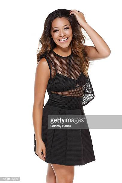 Actress Gina Rodriguez is photographed for ATTRACT Magazine on May 29 2015 in Los Angeles California