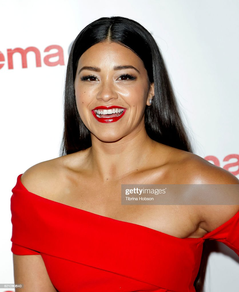Actress Gina Rodriguez, recipient of the Female Star of Tomorrow Award, attends the CinemaCon Big Screen Achievement Awards brought to you by the Coca-Cola Company at Omnia Nightclub at Caesars Palace during CinemaCon, the official convention of the National Association of Theatre Owners, on April 14, 2016 in Las Vegas, Nevada.
