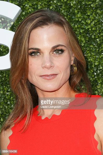Actress Gina Tognoni arrives at the CBS CW Showtime Summer TCA Party at the Pacific Design Center on August 10 2016 in West Hollywood California