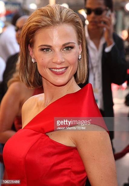 Actress Gina Tognoni arrives to The 35th Annual Daytime Emmy Awards at the Kodak Theatre on June 20 2008 in Los Angeles California