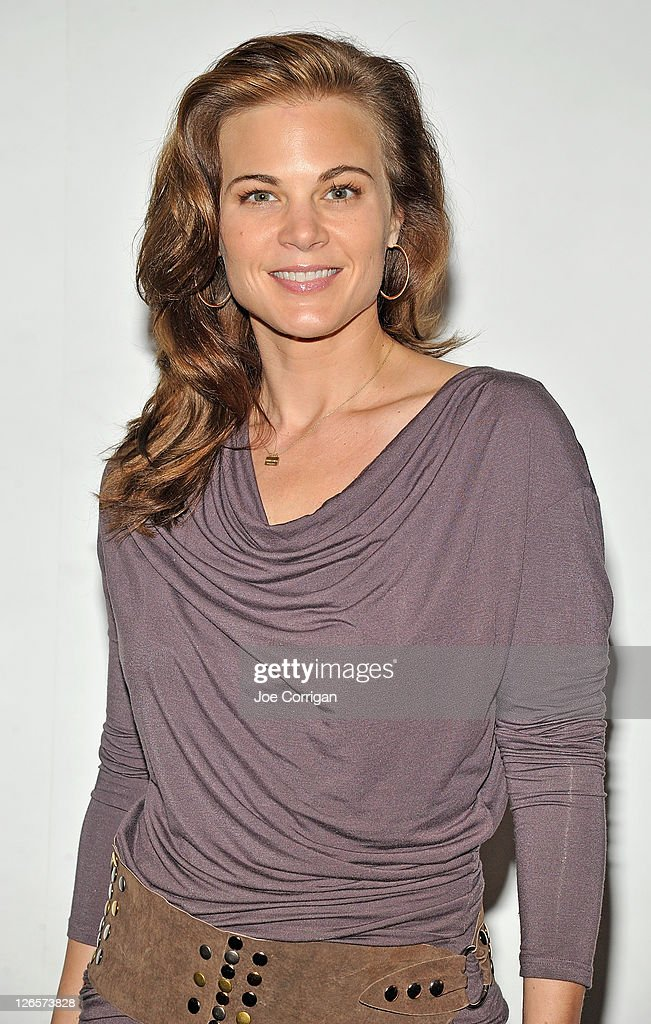 Actress Gina Tognoni attends the 25th annual Broadway Flea Market at The Bernard B. Jacobs Theatre on September 25, 2011 in New York City.