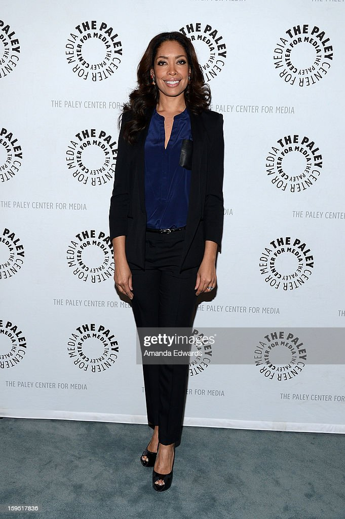 Actress Gina Torres arrives at The Paley Center For Media Presents An Evening With 'Suits' Mid-Season Premiere Screening And Panel at The Paley Center for Media on January 14, 2013 in Beverly Hills, California.
