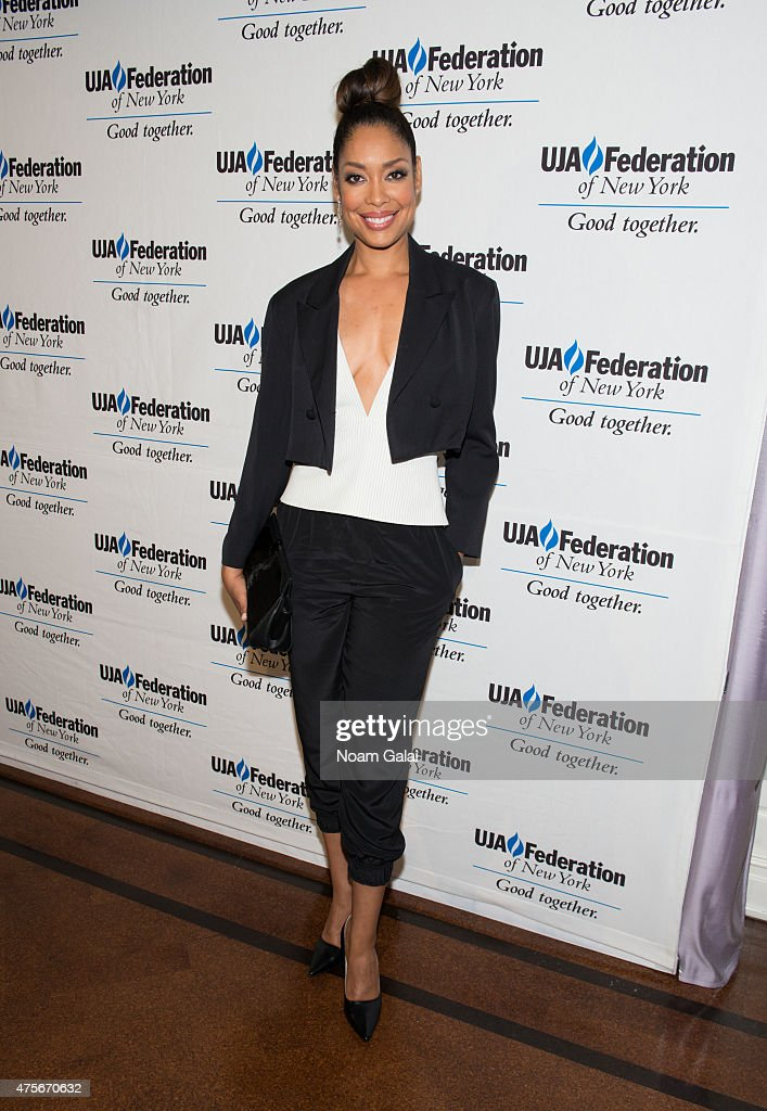 Actress Gina Torres attends the UJA-Federation New York's Entertainment Division Signature Gala at 583 Park Avenue on June 2, 2015 in New York City.
