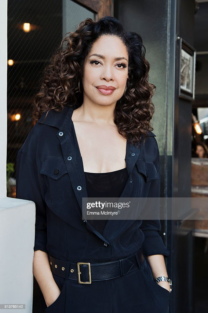 Actress Gina Torres is photographed for The Wrap on January 29, 2016 in Los Angeles, California.