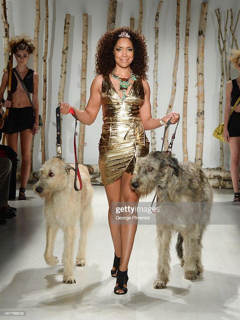 World MasterCard Fashion Week Spring 2015 Collections In Toronto - Huntress - Presentation