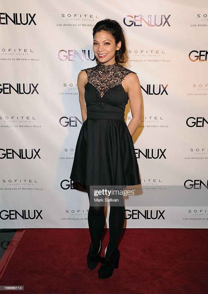 Actress Ginger Gonzaga arrives for the opening of Riviera 31 At Sofitel Los Angeles on January 15, 2013 in Los Angeles, California.