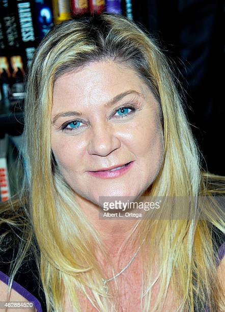 Actress Ginger Lynn Allen at the Second Annual David DeCoteau's Day Of The Scream Queens held at Dark Delicacies Bookstore on January 25 2015 in...