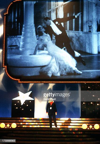 Actress Ginger Rogers on stage on September 241982 in New York New York