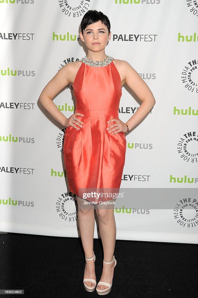 Actress Ginnifer Goodman attends the 30th Annual PaleyFest: The William S. Paley Television Festival honors 'Once Upon A Time' at Saban Theatre on March 3, 2013 in Beverly Hills, California.