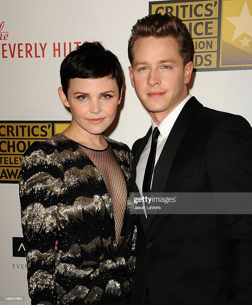 Actress Ginnifer Goodwin and actor Josh Dallas attend the Critics' Choice Television Awards at The Beverly Hilton Hotel on June 18 2012 in Beverly...