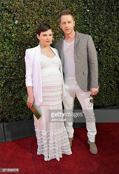 Actress Ginnifer Goodwin and actor Josh Dallas attend the John Varvatos 13th Annual Stuart House benefit presented by Chrysler with Kids' Tent by...