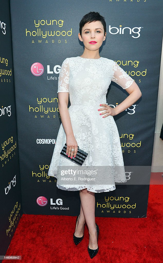 Actress Ginnifer Goodwin arrives at 14th Annual Young Hollywood Awards presented by Bing at Hollywood Athletic Club on June 14, 2012 in Hollywood, California.
