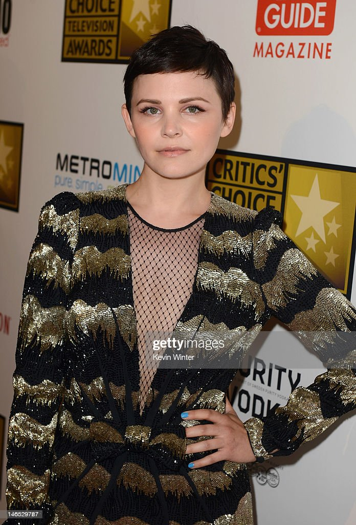 Actress Ginnifer Goodwin arrives at Broadcast Television Journalists Association Second Annual Critics' Choice Awards at The Beverly Hilton Hotel on June 18, 2012 in Beverly Hills, California.