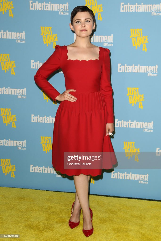 Actress Ginnifer Goodwin arrives at Entertainment Weekly's Comic-Con celebration at Float at Hard Rock Hotel San Diego on July 14, 2012 in San Diego, California.