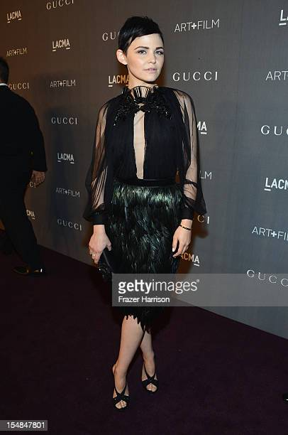 Actress Ginnifer Goodwin arrives at LACMA 2012 Art Film Gala Honoring Ed Ruscha and Stanley Kubrick presented by Gucci at LACMA on October 27 2012 in...