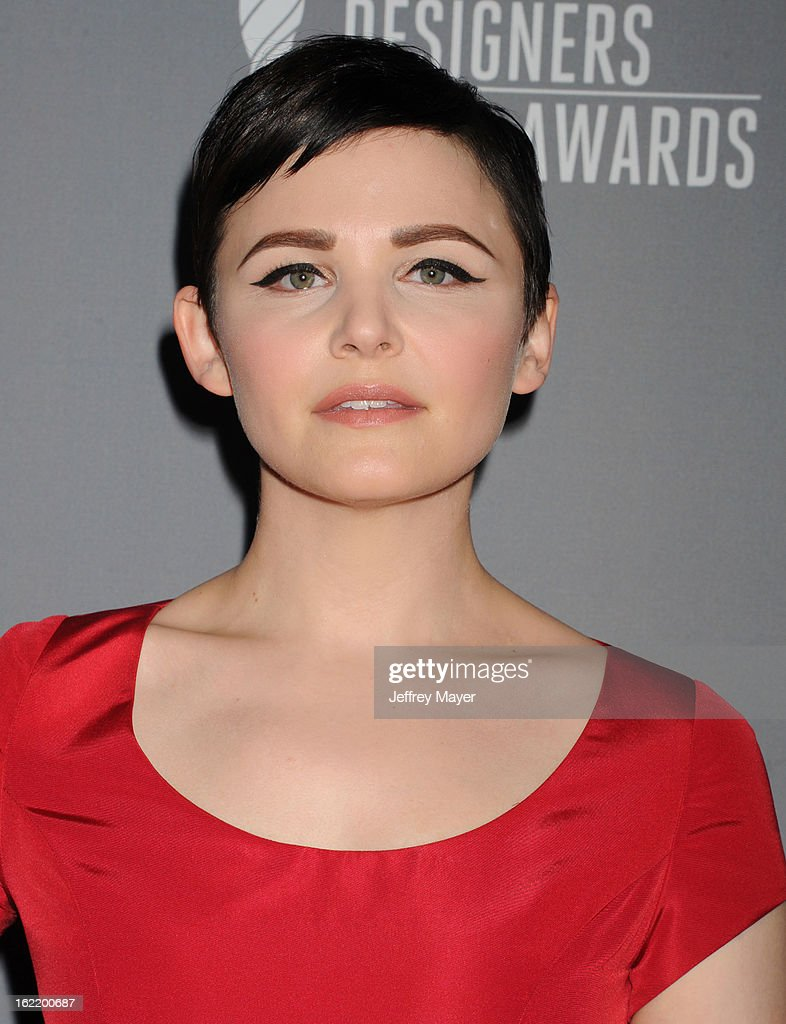 Actress Ginnifer Goodwin arrives at the 15th Annual Costume Designers Guild Awards at The Beverly Hilton Hotel on February 19, 2013 in Beverly Hills, California.