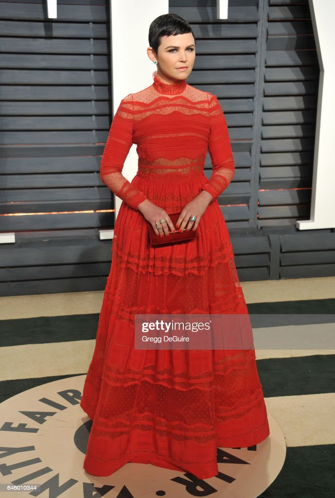 Actress Ginnifer Goodwin arrives at the 2017 Vanity Fair Oscar Party Hosted By Graydon Carter at Wallis Annenberg Center for the Performing Arts on February 26, 2017 in Beverly Hills, California.