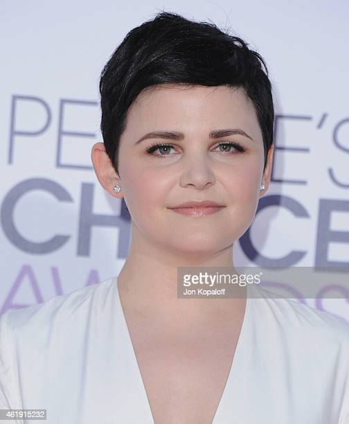 Actress Ginnifer Goodwin arrives at The 41st Annual People's Choice Awards at Nokia Theatre LA Live on January 7 2015 in Los Angeles California