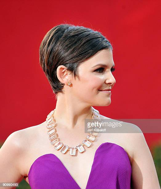 Actress Ginnifer Goodwin arrives at the 61st Primetime Emmy Awards held at the Nokia Theatre LA Live on September 20 2009 in Los Angeles California