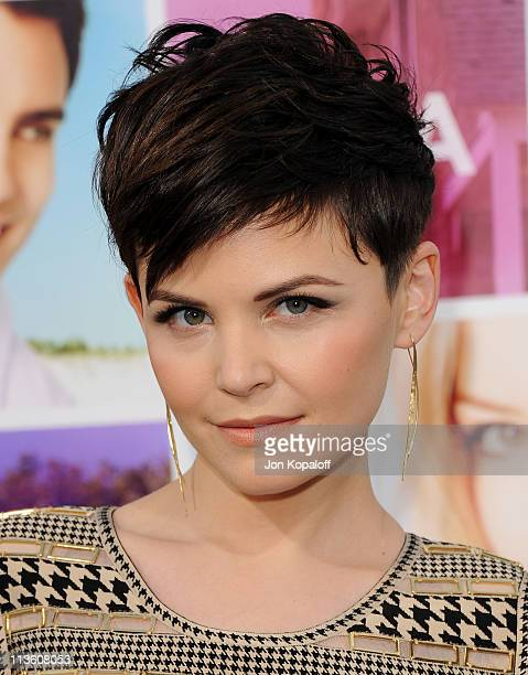 Actress Ginnifer Goodwin arrives at the Los Angeles Premiere 'Something Borrowed' at Grauman's Chinese Theatre on May 3 2011 in Hollywood California