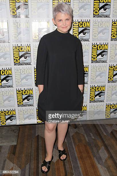 Actress Ginnifer Goodwin arrives at the 'Once Upon a Time' press room on July 11 2015 in San Diego California