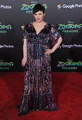 Actress Ginnifer Goodwin arrives at the premiere of Walt Disney Animation Studios' 'Zootopia' at the El Capitan Theatre on February 17 2016 in...