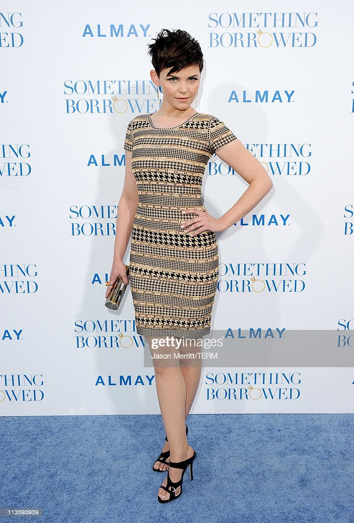 Actress Ginnifer Goodwin arrives at the premiere of Warner Bros. 'Something Borrowed' held at Grauman's Chinese Theatre on May 3, 2011 in Hollywood, California.