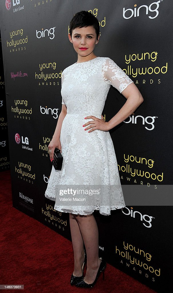 Actress Ginnifer Goodwin arrives at the Young Hollywood Awards at Hollywood Athletic Club on June 14, 2012 in Hollywood, California.