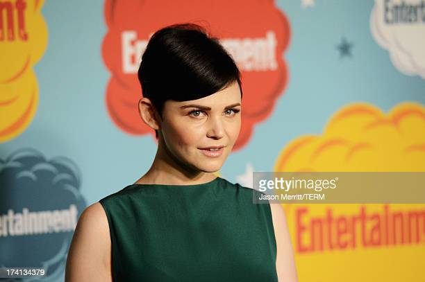 Actress Ginnifer Goodwin attends Entertainment Weekly's Annual ComicCon Celebration at Float at Hard Rock Hotel San Diego on July 20 2013 in San...