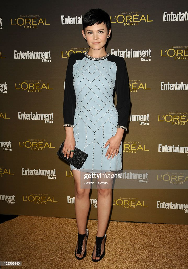 Actress Ginnifer Goodwin attends the 2012 Entertainment Weekly pre-Emmy party at Fig & Olive Melrose Place on September 21, 2012 in West Hollywood, California.