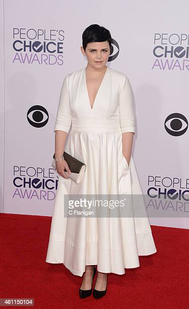 Actress Ginnifer Goodwin attends the 2015 People's Choice Awards at Nokia Theatre LA Live on January 7 2015 in Los Angeles California